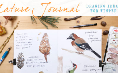 Nature Journaling Ideas For Winter – New Class
