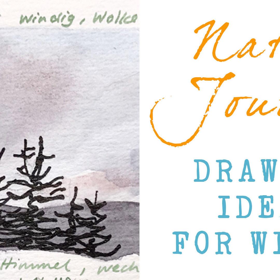 Nature Journaling Ideas For Winter – New Class