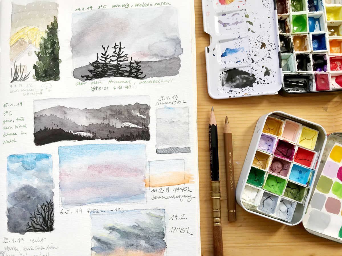 How To Get Started With A New Sketchbook
