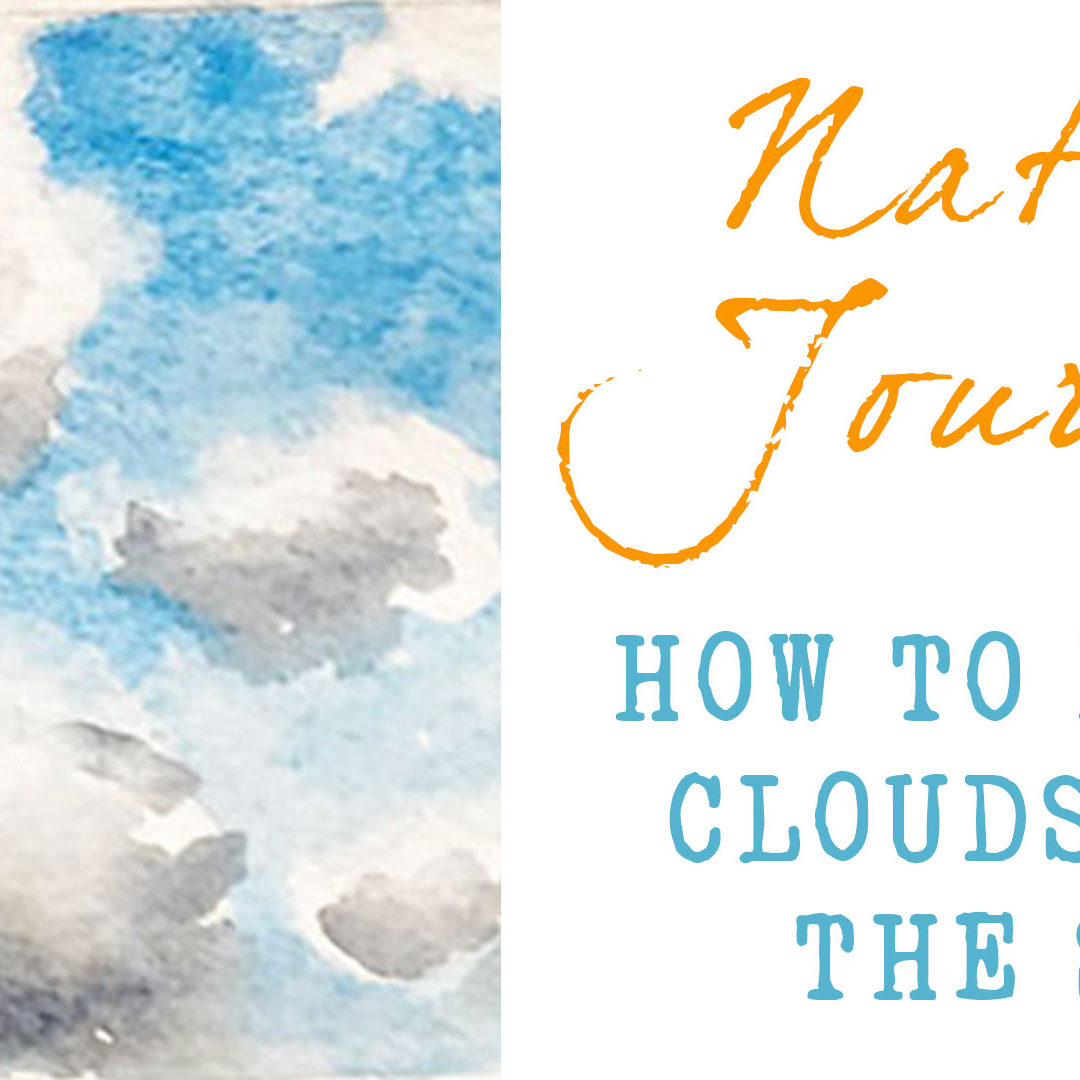 How To Paint Clouds And The Sky – Learn to Paint Clouds in Watercolor (new class)
