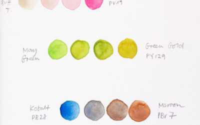 My Favorite Watercolor Mixes Right Now
