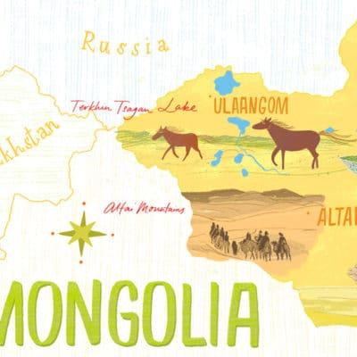 Mongolia Map