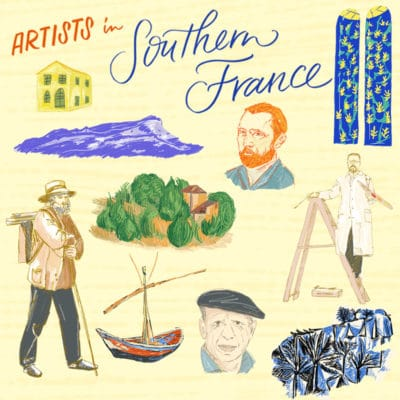 Artists in Southern France